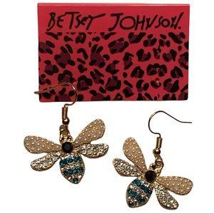 Betsey Johnson Style - Butterfly Drop Earrings